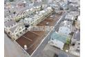 【外観】上空から見た販売現地全体(2020年3月撮影) 東村山駅徒歩12分と通勤・通学しやすい立地です。