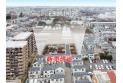 【その他】上空から見た販売現地と周辺(2020年1月撮影) 大きな開発分譲地なので町並みがキレイとなっております。