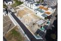 【外観】上空からの販売現地全景(2020年11月撮影) 全棟敷地35坪以上とゆとりある広さとなっております。