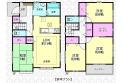 【間取】参考プラン(建物約1,559万円土地建物合計価格5,857万円)