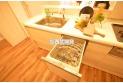 【キッチン】食洗機は毎日の家事の負担が大きい洗い物をサポートします。浮いた時間を自分のためにそして家族の為に使ってみてはいかがでしょう。