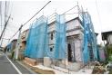 【外観】9月13日撮影/閑静な住宅地の一角に新築住宅が誕生します