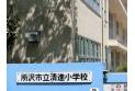 【小学校】清進小学校 約520m