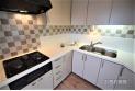 【キッチン】キッチンは料理中の移動を少なくできるL字型