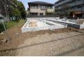 【外観】建物支える大切な基礎はベタ基礎を採用(2019年4月撮影)
