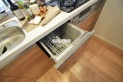 【キッチン】食洗機付でご家族の食器もピカピカ