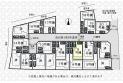 【区画図】全20棟5号棟/人気の大型開発分譲地/土地面積121.37m2/カースペース2台可