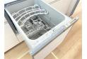 【キッチン】【ビルトイン食洗機】 食器洗いにかける時間も節約、節水できます。ビルトインなので調理スペースも広々使うことができます。