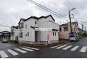 【外観】鶴ヶ島駅徒歩15分の角地の物件です!