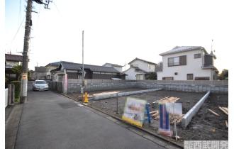 【外観】交通量少ない前面道路 閑静な住宅地です