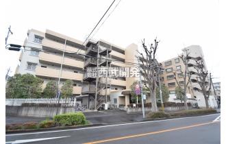 【外観】八坂徒歩駅7分のマンションです。
