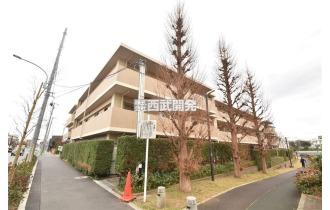 【外観】「東久留米」駅徒歩11分のマンションです。