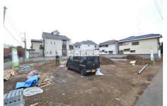 【外観】「一橋学園」駅徒歩12分!全5棟の新築住宅が誕生します!(現地全体 平成30年12月3日撮影)