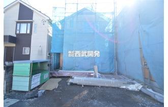【外観】(2019年2月撮影)「一橋学園」駅徒歩12分!全5棟の新築住宅が誕生します!