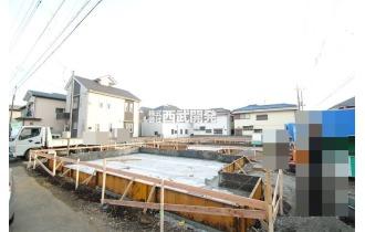 【外観】「一橋学園」駅徒歩12分!全5棟の新築住宅が誕生します!(現地全体 平成30年12月20日撮影)
