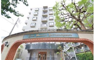 【外観】マンション全景/京王線・JR南武線「分倍河原駅」徒歩約8分で通勤・通学に便利な立地です。