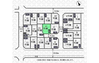 【区画図】22号棟