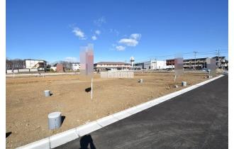【外観】南東側 幅6.2m道路 道路の反対側は公園になります。 平成31年1月27日撮影