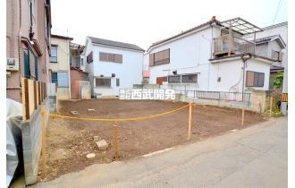 【外観】公道面/ゆとりの敷地34坪