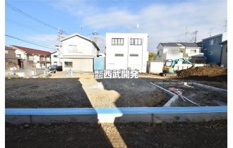 【外観】37坪のゆとりの敷地に佇む、納得のプランニング/南東道路面につき陽当良好