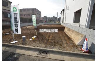 【外観】朝霞駅徒歩18分の立地!6m公道に面しフリープラン!