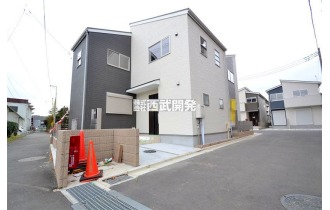 【外観】平成30年10月築/未入居住宅/6m公道面につき開放感有