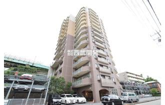 【外観】平成20年1月築/14階建て6階部分/南西角部屋につき眺望、陽当たり良好