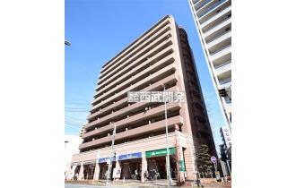 【外観】志木駅徒歩3分の好立地!13階建6階部分の南東向きにつき陽当たり、眺望良好!