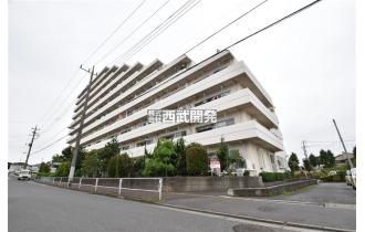 【外観】10階建て4階部分/朝霞駅徒歩18分の立地