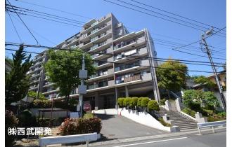 【外観】8階建て6階部分につき眺望良好!成増駅徒歩16分の立地!