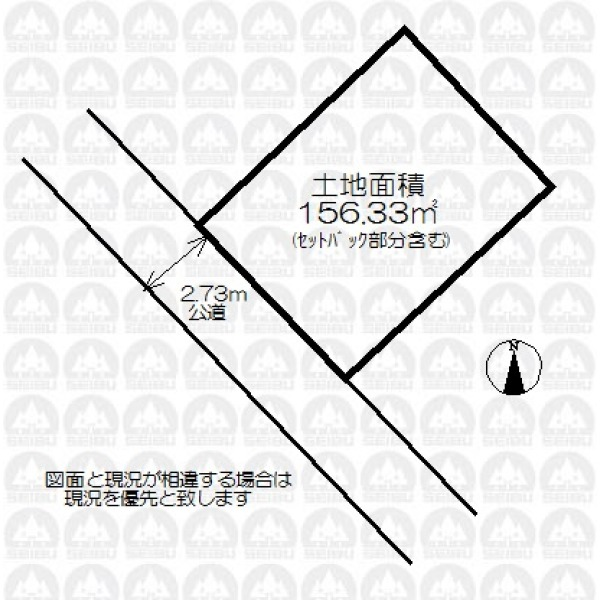 【区画図】お好きなハウスメーカーで建築可能です!