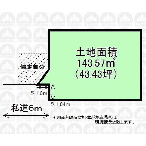 【区画図】建物プランもご相談承ります。