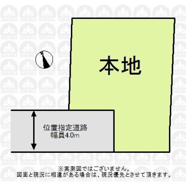 【区画図】志木駅徒歩10分と通勤・通学しやすい立地です。貴方ならどんな間取の家を建てますか?