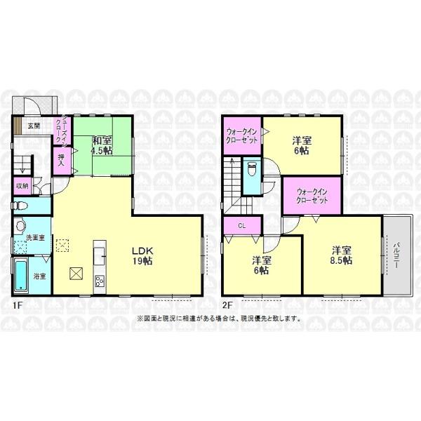 【間取】収納豊富な4LDKのご住宅!