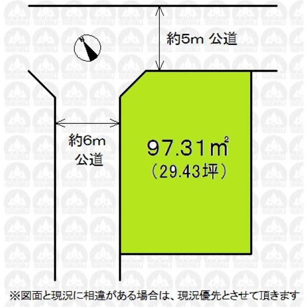【区画図】お好きなハウスメーカー等で建築可能です!