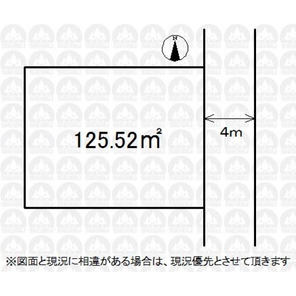 【区画図】お好きなハウスメーカー・工務店で建築可能です!