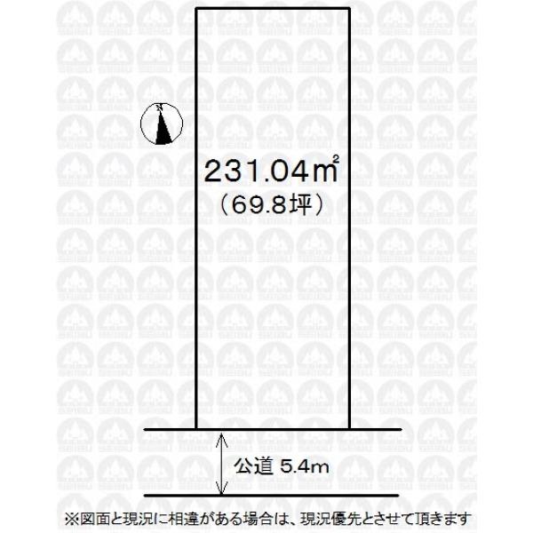 【区画図】建築条件なしお好みのハウスメーカーで建築できます!