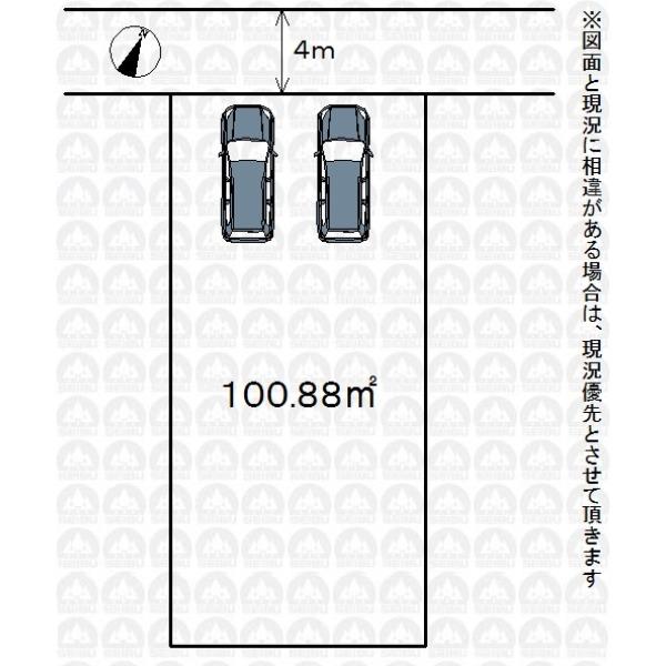 【区画図】建築条件なしのためお好きなハウスメーカー・工務店で建築可能です!