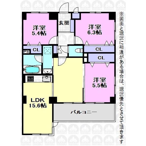 【間取】全室収納あり!食洗機+浴室乾燥機標準装備!嬉しい設備充実のご住宅です。
