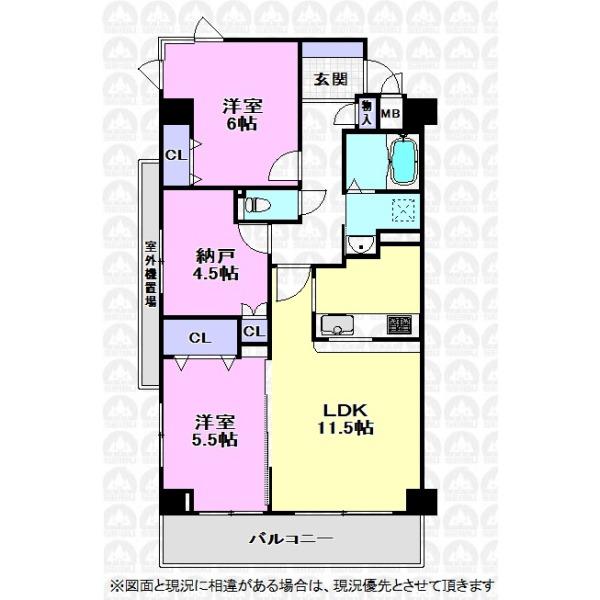 【間取】全室収納スペースあり!