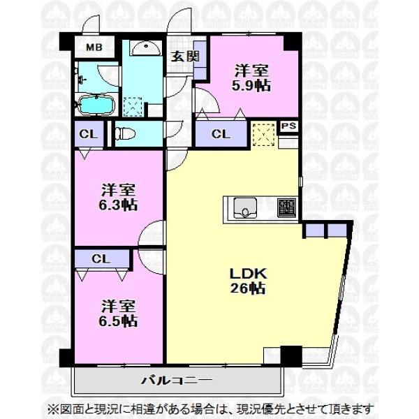 【間取】新規リフォーム済みのキレイなご住宅でワクワク新生活