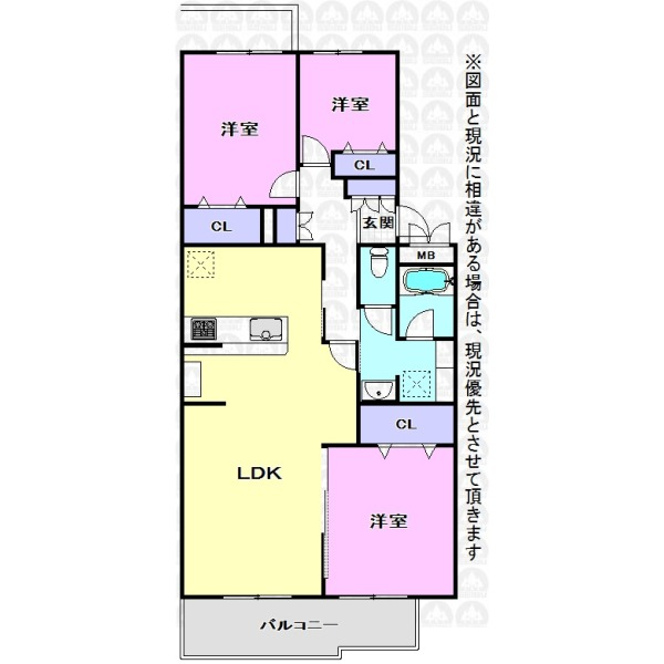 【間取】全室収納あり!リフォーム済みの綺麗なご住宅でわくわくの新生活!