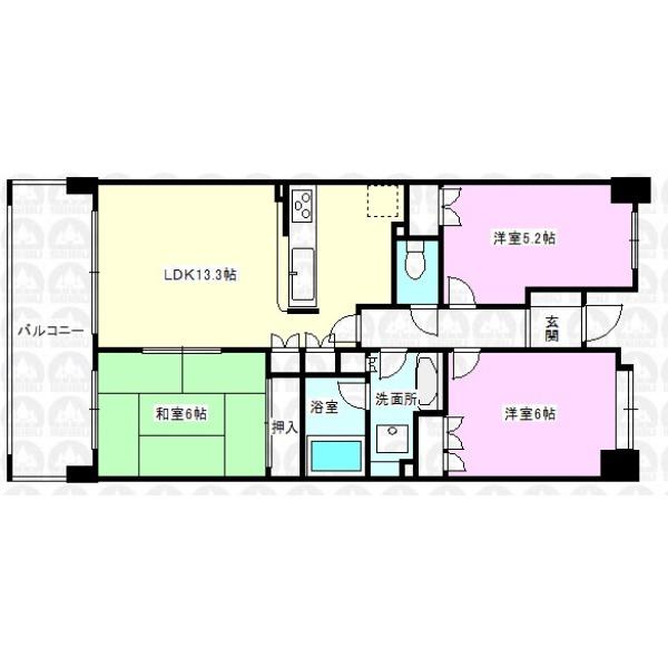 【間取】部屋ごとに設けた収納は住みやすさへのこだわり