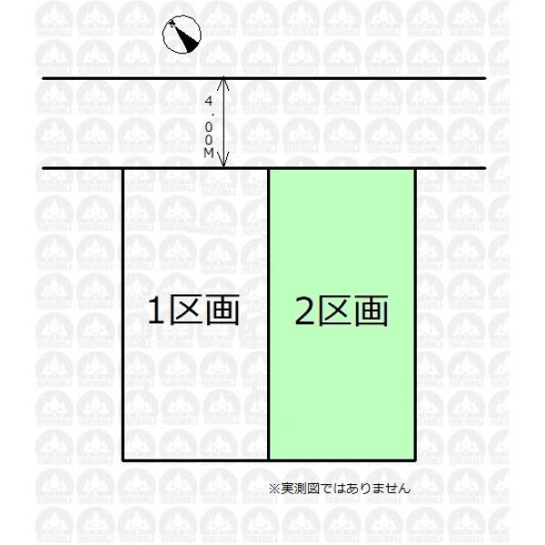 【区画図】2区画