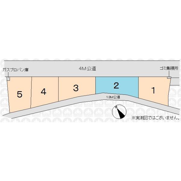 【区画図】全5区画現場