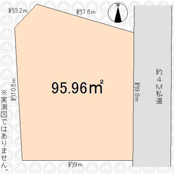 【区画図】お好きなハウスメーカーで、納得のプランニング!