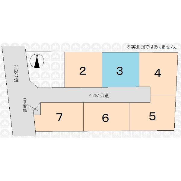 【区画図】全7区画現場
